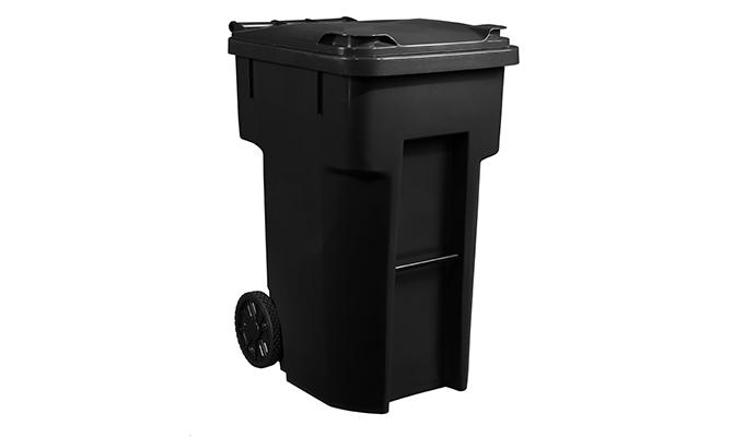 Black Basic Cart 96 Gallon